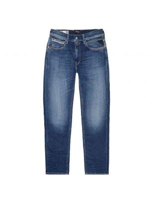 replay grover hyperflex jeans MA972Z 030 661RI12 007 blue
