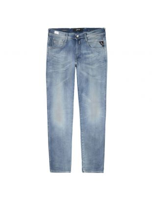 Replay Anbass Jeans   M914Y 661 A05 009 Blue