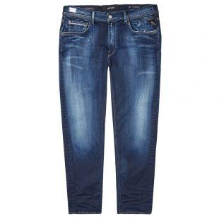 Replay Hyperflex Jeans | MA972Z 661A04 007 Indigo