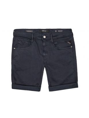 replay shorts hyperflex anbass MA996Y 010 navy