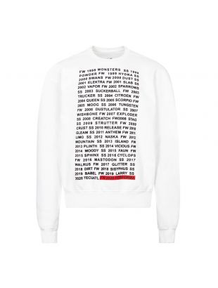 rick owens drkshdw sweatshirt DU20F1270 FEP1 11009 chalk white