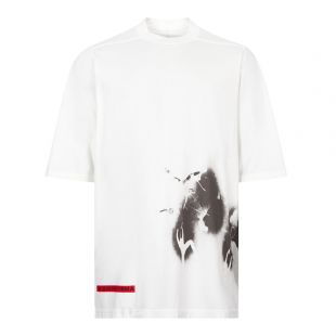 rick owens drkshdw t-shirt jumbo DU20F1274 RNEP3 11009 chalk white