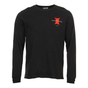 Saturdays Long Sleeve T-Shirt | Super Ellipse M21829-LS07-S0100 Black
