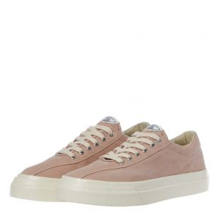 Dellow Canvas Trainers - Spring Pink