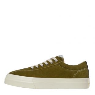stepney workers club dellow suede trainers YA01665 military green