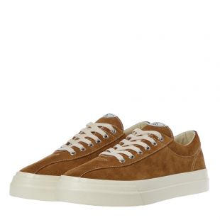 Dellow Suede Trainers - Taupe
