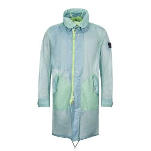 Stone Island Shadow Project Opak Jacket | 721970105 V0052 Green / Blue
