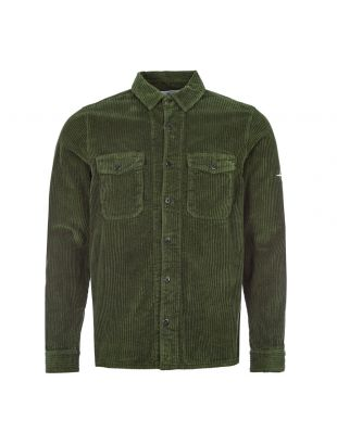 Cord Shirt - Olive Green