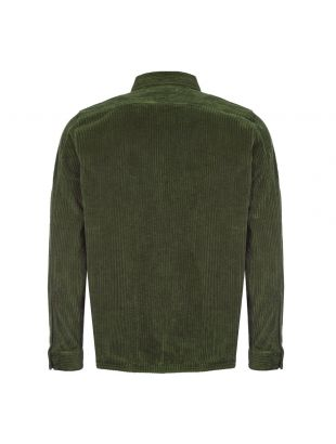 Cord Shirt - Olive Green