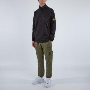 Mock Neck Sweatshirt – Black