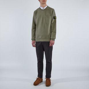 Sweatshirt Pocket - Khaki