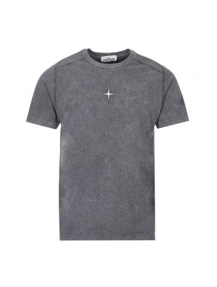 Stone Island T-Shirt Embroidered |731522893 V2M35 Grey | Aphrodite