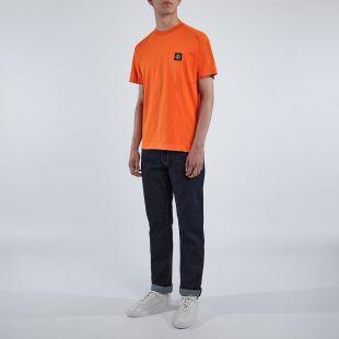 T-Shirt Patch Logo - Orange