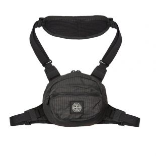 Stone Island Bum Bag | 711590766 V0029 Black