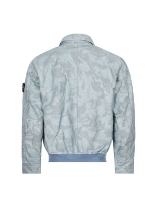 Big Loom Camo Jacket - Sky Blue