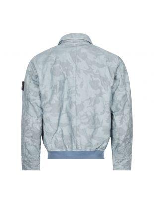 Big Loom Camo Jacket - Sky Blue