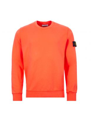 Stone Island Sweatshirt | 721563051 V0037 Orange