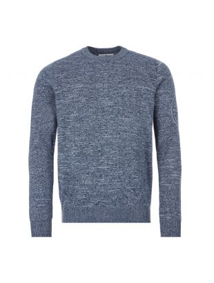 Stone Island Crew Neck Jumper | 7215564D7 V0028 Blue / Grey
