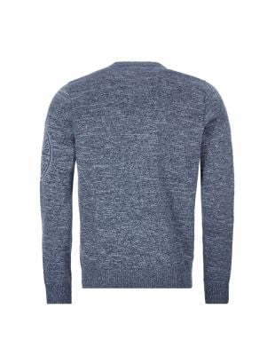 Crew Neck Jumper – Blue / Grey