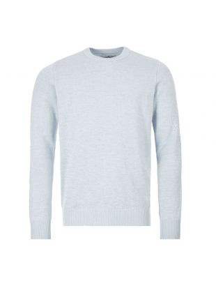 stone island crew neck jumper 7215564D7 V0041 grey