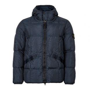 Stone Island Jacket Crinkle Reps Garment Dyed 711540223 V0020 Navy