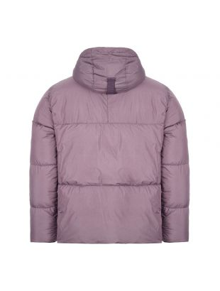 Crinkle Reps Down Jacket - Mauve