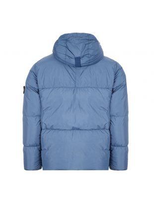 Crinkle Reps Down Jacket - Blue