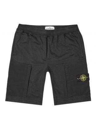 Stone Island Shorts Fleece | 721562353 V0029 Black