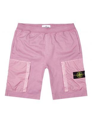 Stone Island Fleece Shorts | 721562353 V0086 Pink