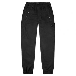stone island shadow project trousers 7115324 F2 V0029 black