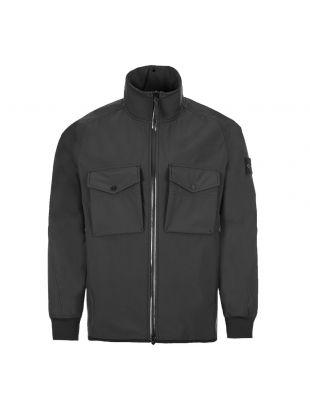 stone island poliestere stretch ghost piece jacket 7215426F1|V0029 black