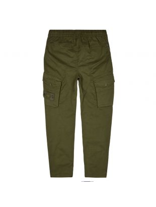 Ghost Piece Cargo Trousers - Military Green