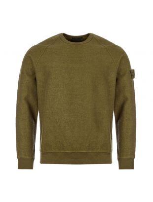 stone island ghost sweatshirt 7315654F5 V0054 military green