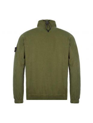 Half Zipped Sweatshirt - Dark Green