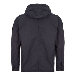 Hooded Overshirt - Navy