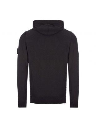 Knitted Hoodie - Black