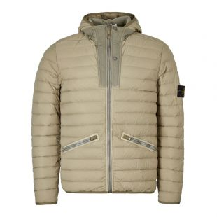 stone island down jacket chambers nylon tc 711543125 V0068 green