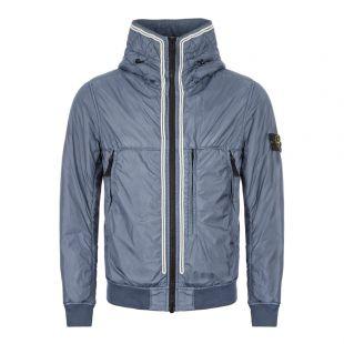 Stone Island Crinkle Reps NY Jacket | MO711544523 V0024 Blue