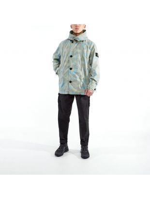 Jacket Camo Devore Watro TC - Green / Blue