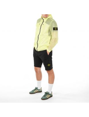 Hooded Jacket Lucido-TC - Lemon