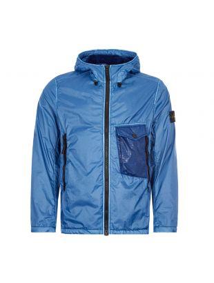 stone island jacket lamy flock 731543035 V0043 blue