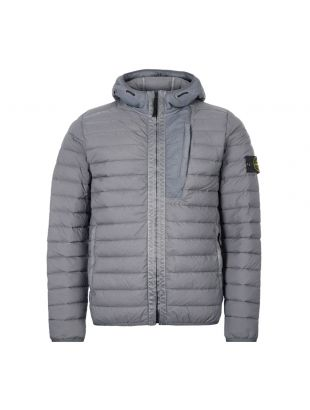 Stone Island Jacket Nylon Woven Down Chambers 721541225 V0063 Grey