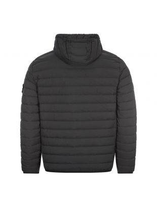 Loom Woven Down Chambers Jacket - Black