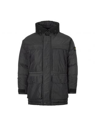 stone island jacket micro reps down 731540626 V0029 black