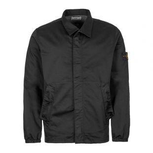 Stone Island Black Overshirt 711512015 V0029