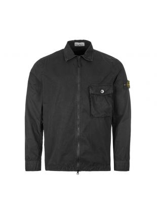 Stone Island Overshirt | 7215114WN V0129 Black