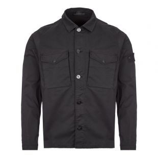 stone island ghost overshirt 7215123F2 V0029 black