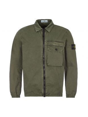 Stone Island Overshirt | Green 7315107WN V0159 |