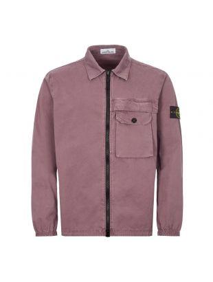 Stone Island Overshirt | 7315107WN V0145 Mauve