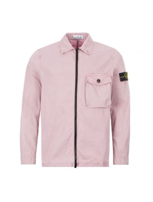 stone island overshirt 7215114 WN V0186 pink